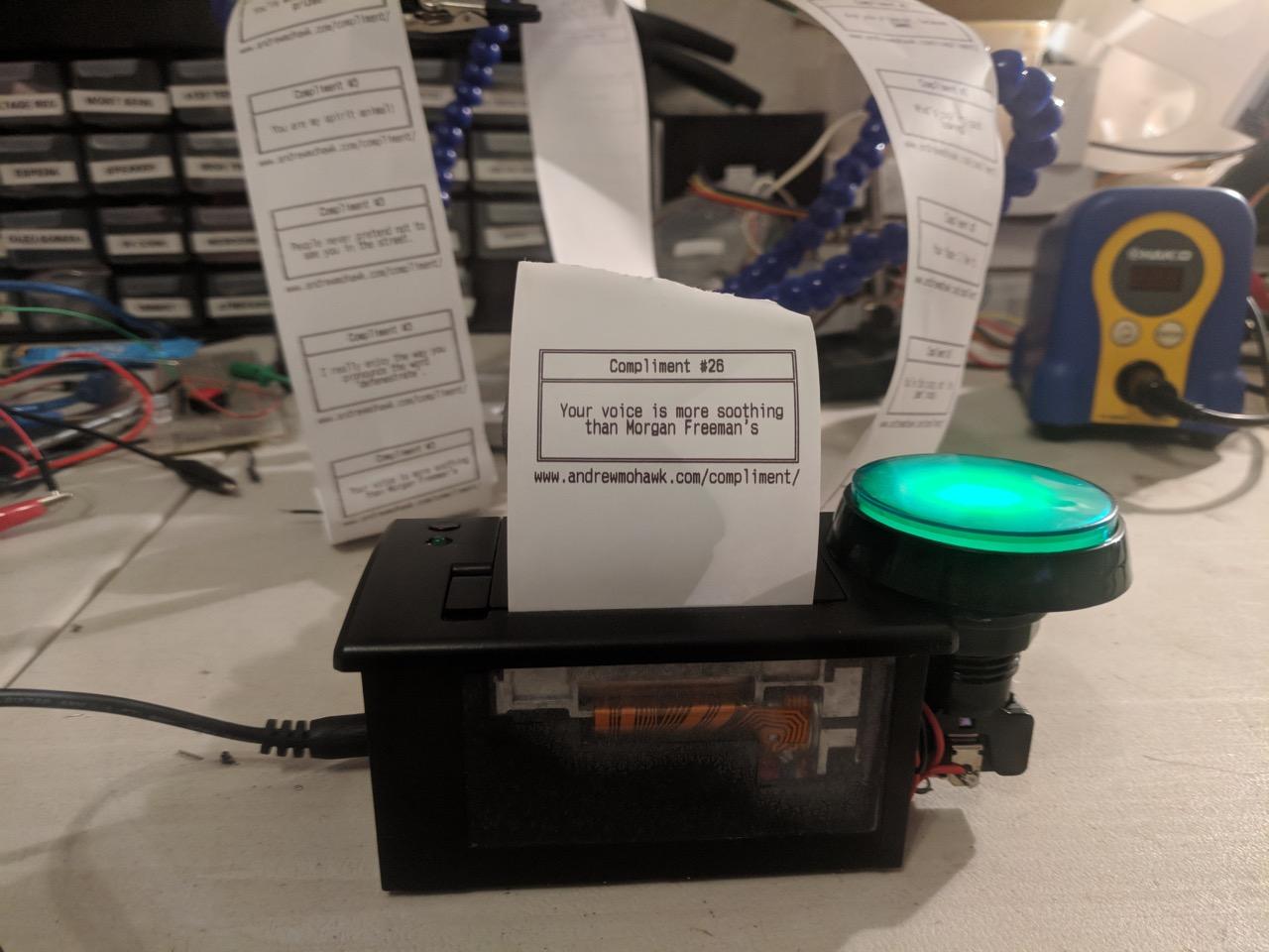 Compliment Printer!